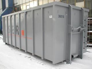 Container Roto Compactor - vedere din fata